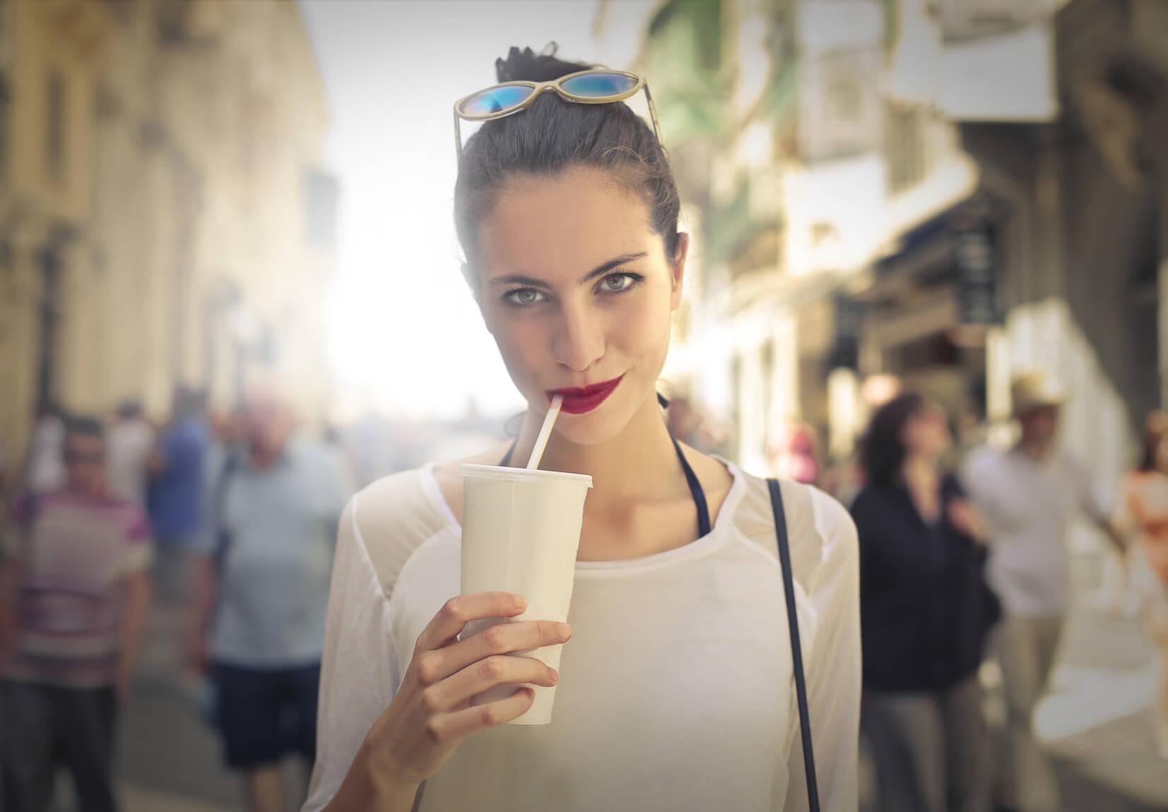 Kobiecy minimalizm w wielkim mieście….